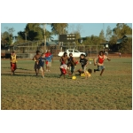 Footy Game at Wiluna