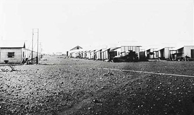 Historical - Single Men.s Huts . Wiluna Gold Mine